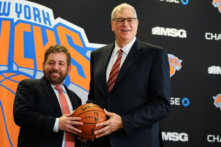 Knicks' Dolan predicts 'successful offseason' for team