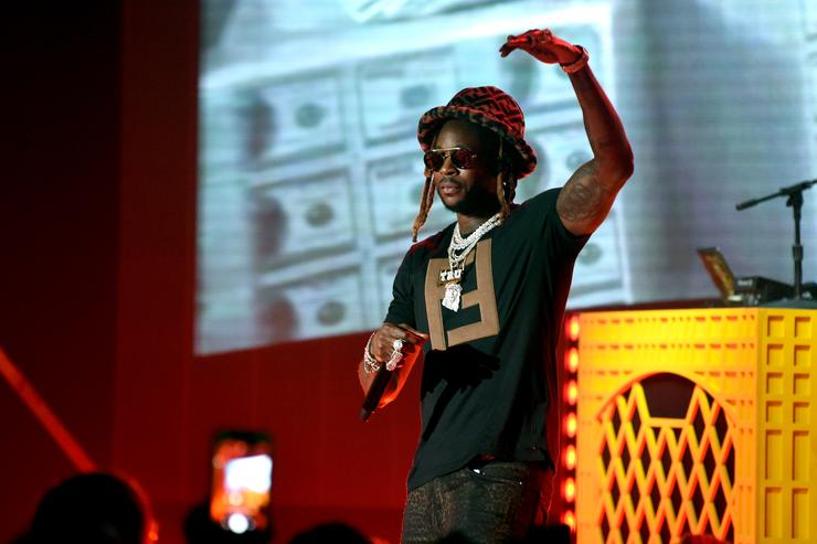 2 Chainz performs onstage during the iHeartRadio album release party with 2 Chainz at iHeartRadio Theater on March 04, 2019 in Burbank, California