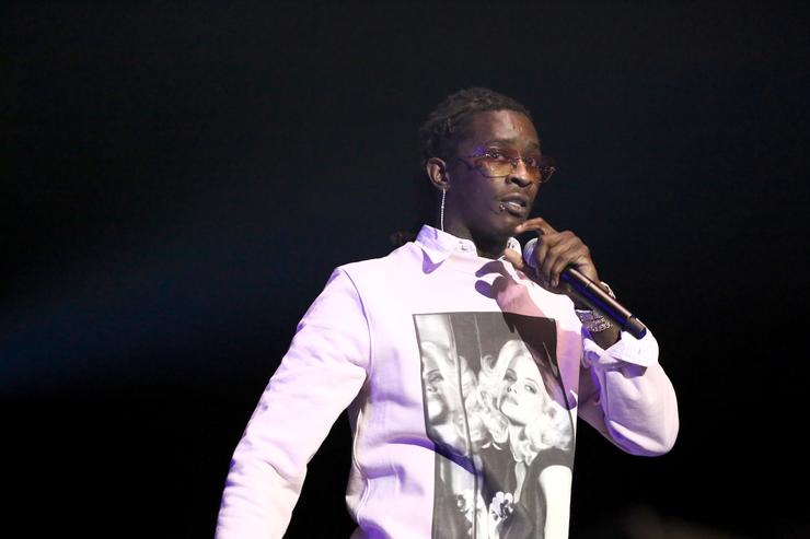 Young Thug performs onstage at the STAPLES Center Concert Sponsored by SPRITE during the 2018 BET Experience on June 23, 2018 in Los Angeles, California