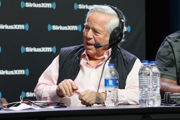Robert Kraft Files Motion to Stop Release of Evidence