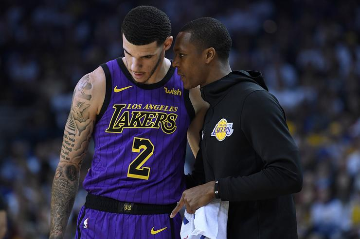 Lakers asked Lonzo Ball if BBB part of ankle problems
