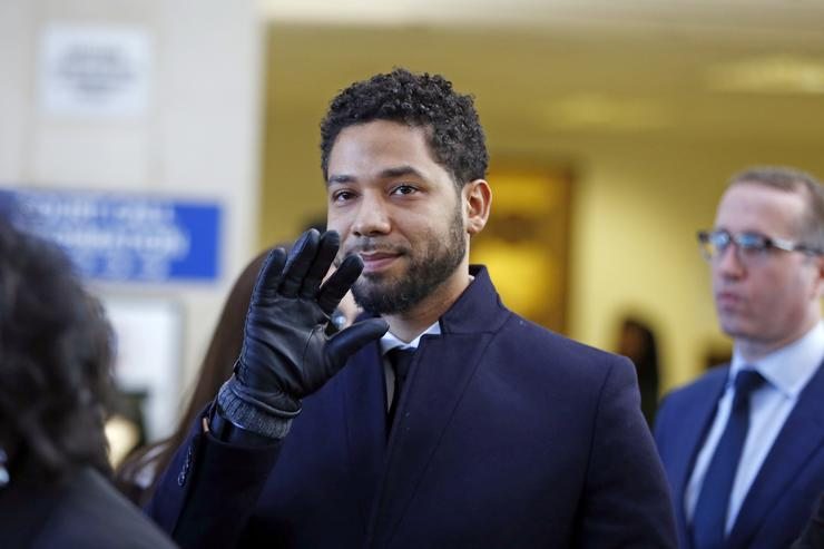 Jussie Smollett: Trump says Federal Bureau of Investigation  and justice department will review case