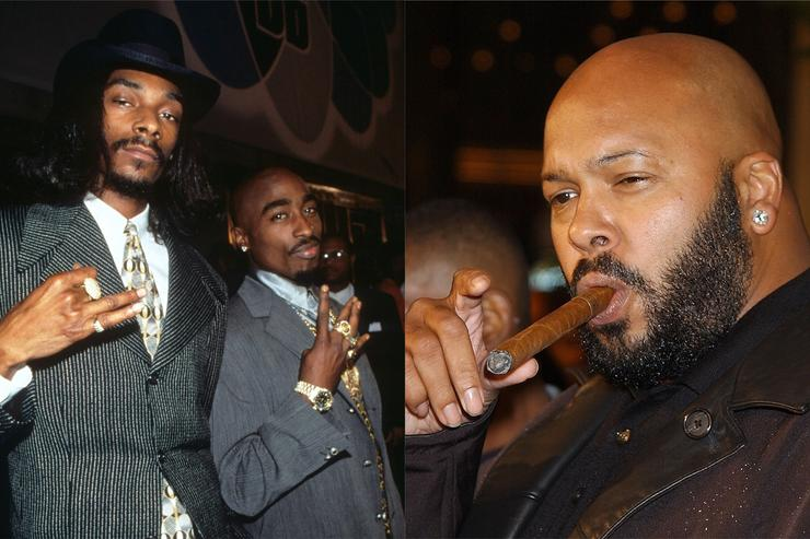 Snoop Dogg and Tupac, Suge Knight of Death Row Records
