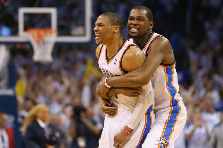 Russell Westbrook Kevin Durant