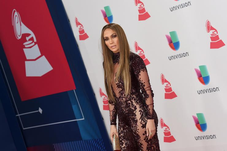 Jennifer Lopez at 17th annual Latin Grammy Awards.