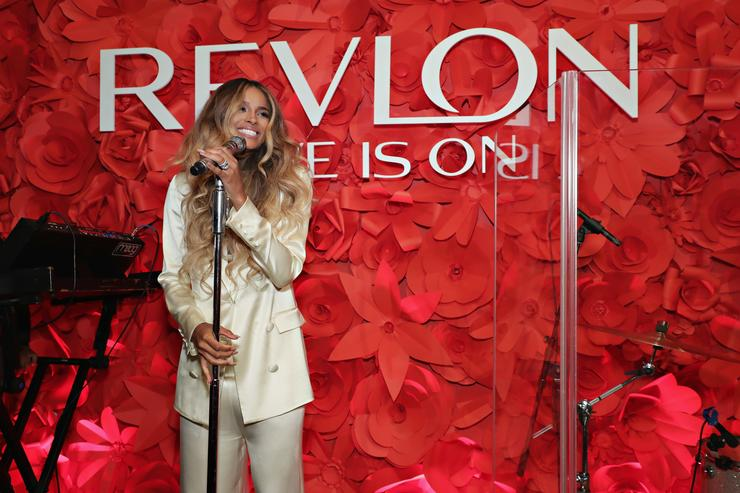 Ciara at Revlon Global Ambassador launch.