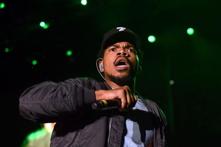 Chance The Rapper performs on Camp Stage during day one of Tyler, the Creator's 5th Annual Camp Flog Gnaw Carnival at Exposition Park on November 12, 2016 in Los Angeles, California.