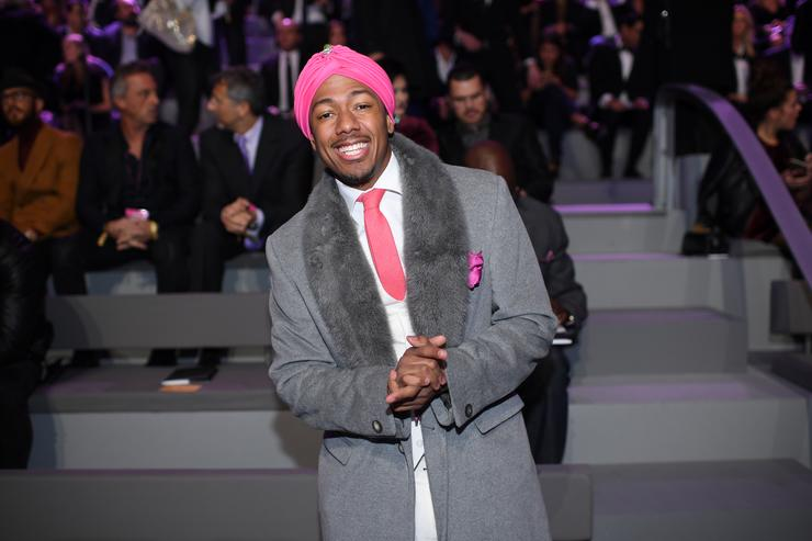 Nick Cannon at 2016 Victoria Secret Fashion show.