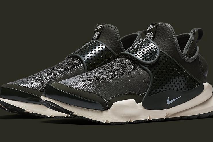"Stone Island X Nike ""Sock Dart"" mid Collaboration."