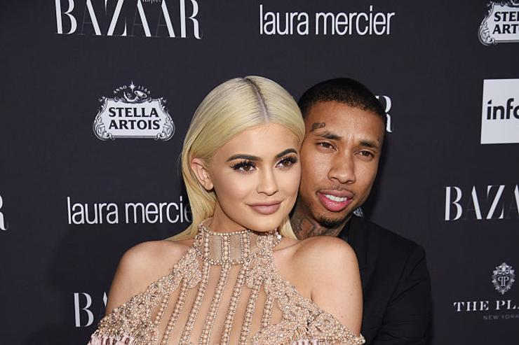 Kylie Jenner and Tyga attend Harper's Bazaar's celebration of 'ICONS By Carine Roitfeld' presented by Infor, Laura Mercier, and Stella Artois at The Plaza Hotel on September 9, 2016 in New York City.