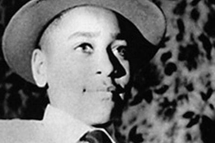 Emmett Till poses for a photo.
