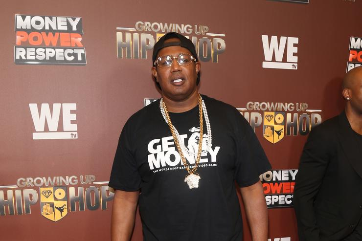 "Master P at We tv's season 2 premiere of ""Growing Up Hip Hop."""