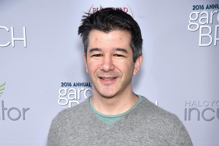 Travis Kalanick at 2016 Garden Brunch.