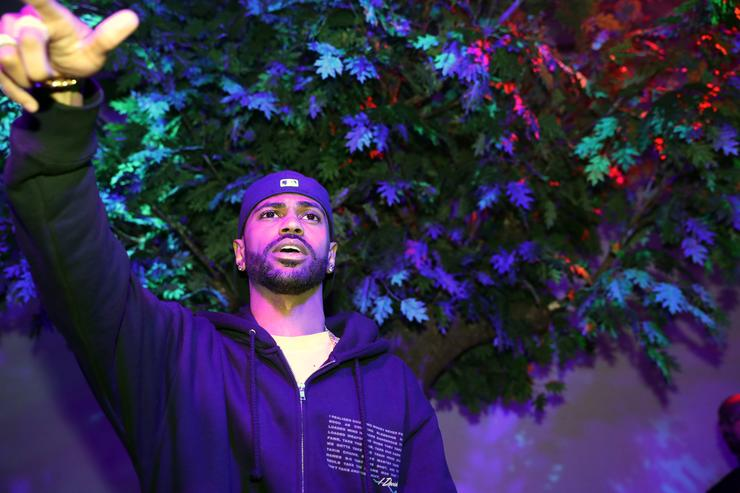 "Big Sean at ""I Decided"" listening party in New York."