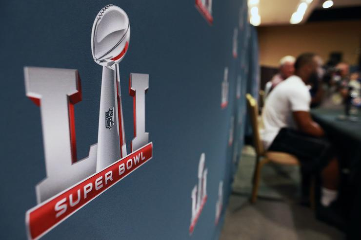 New England Patriots media availability for Superbowl LI.