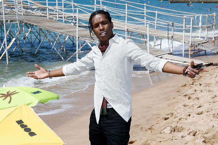ASAP Rocky attends a photocall for 'Dope' during the 68th annual Cannes Film Festival on May 22, 2015 in Cannes, France.