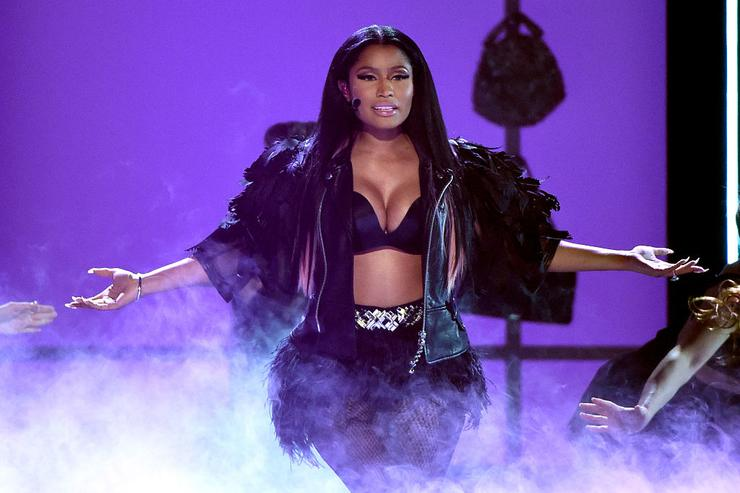 Nicki Minaj performs onstage during the 2015 Billboard Music Awards at MGM Grand Garden Arena on May 17, 2015 in Las Vegas, Nevada.