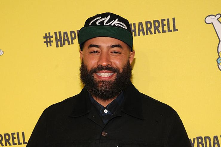 Hot 97 radio personality Ebro Darden attends the SpongeBob SquarePants themed, 41st birthday party for Pharrell Williams at Bikini Bottom at Cipriani Wall Street on April 4, 2014 in New York City.