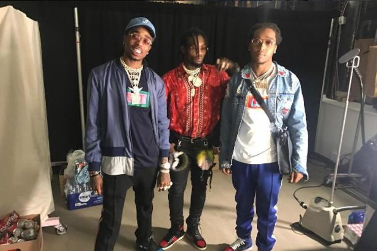 Migos prepare for New York Fashion Week.