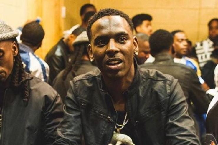 Young Dolph poses for a photo.