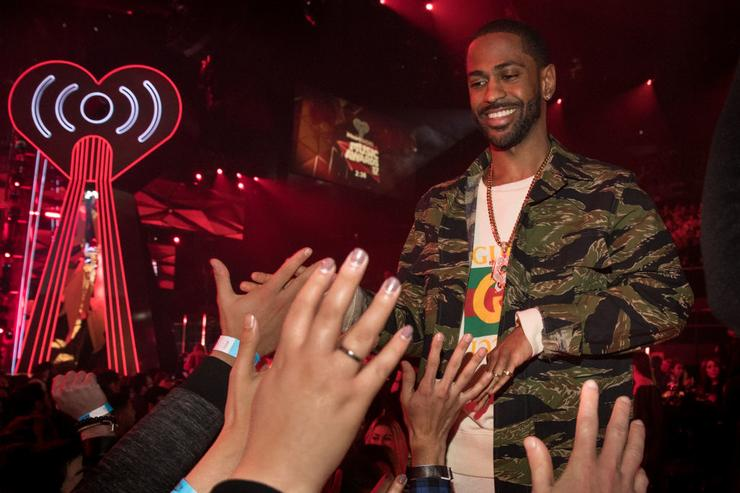 Big Sean greets fans at the 2017 iHeartRadio Music Awards which broadcast live on Turner's TBS, TNT, and truTV at The Forum on March 5, 2017 in Inglewood, California.