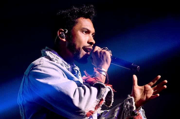 Miguel performs at adidas Originals NMD Concert at a private location on March 24, 2016 in Los Angeles, California.