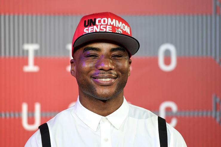 TV personality Charlamagne Tha God attends the 2015 MTV Video Music Awards at Microsoft Theater on August 30, 2015 in Los Angeles, California.