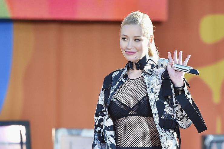 Iggy Azalea Performs On ABC's 'Good Morning America' at Rumsey Playfield, Central Park on June 10, 2016 in New York City