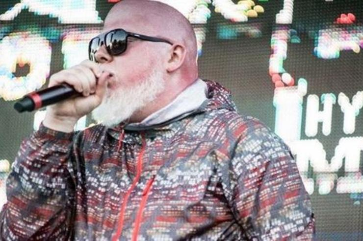 Brother Ali performs at a show in Chicago.