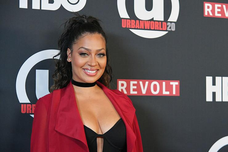 Actress La La Anthony attends the 20th Annual Urbanworld Film Festival - 'The New Edition Story' Screening at AMC Empire 25 theater on September 24, 2016 in New York City.