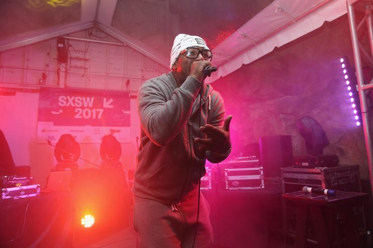 Cam'ron at the Hip-Hop Beat Showcase at SXSW