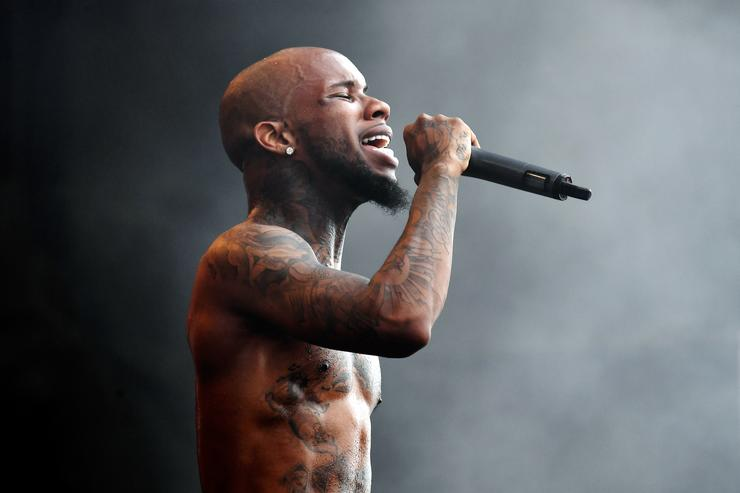 Tory Lanez performs at 2017 Hangout Music Festival