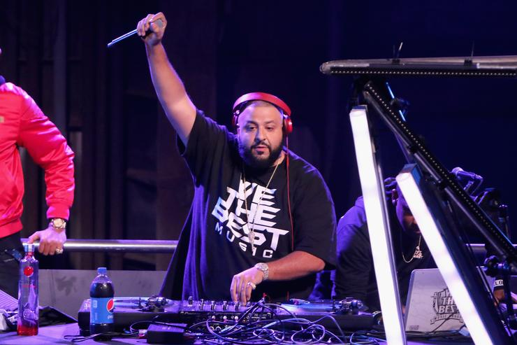 Dj Khaled performs at The 2015 Pepsi Rookie Of The Year Award Ceremony