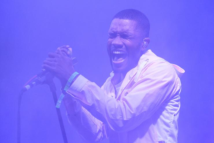 Frank Ocean performs at 2014 Bonnaroo Music & Arts Festival