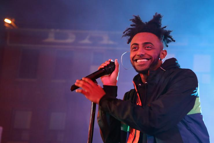 Amine performs at MTV's 'Wonderland' LIVE Show