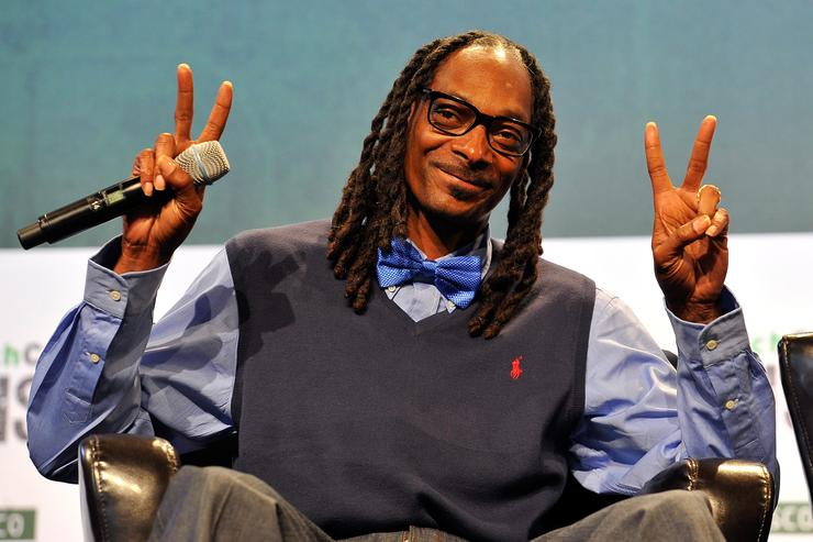 Snoop Dogg speaks at TechCrunch Disrupt SF 2015