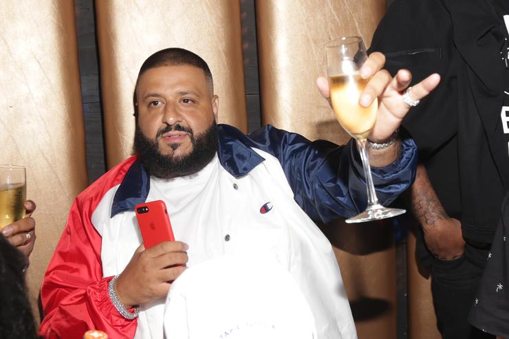 DJ Khaled at a BET Awards event
