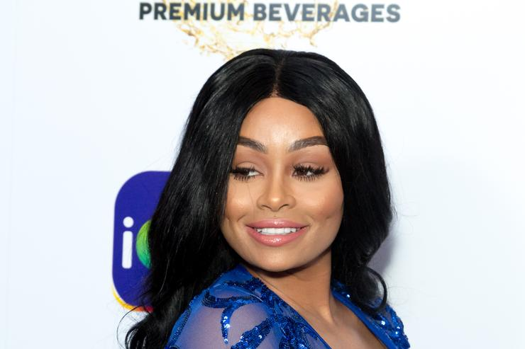 Model Blac Chyna arrives for the iGo.live Launch Event at the Beverly Wilshire Four Seasons Hotel on July 26, 2017 in Beverly Hills, California.