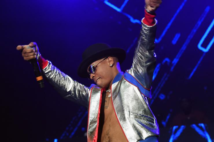 Plies performs during V-103 Live Pop Up Concert at Philips Arena on March 25, 2017 in Atlanta, Georgia.
