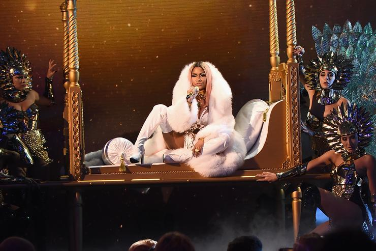 Nicki Minaj performs on stage during the 2017 NBA Awards Live On TNT on June 26, 2017 in New York City.