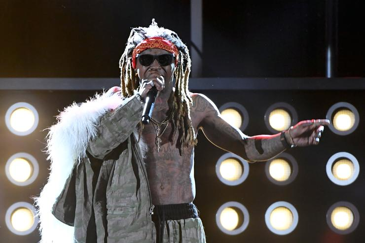Rapper Lil' Wayne performs during the 2017 Billboard Music Awards at T-Mobile Arena on May 21, 2017 in Las Vegas, Nevada.