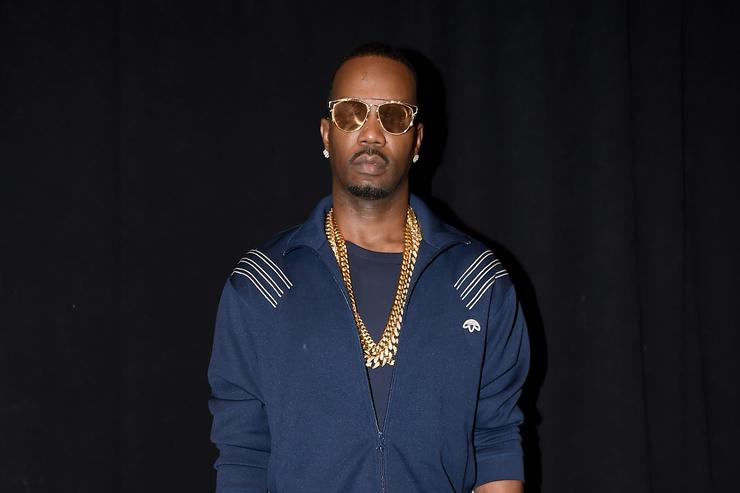 Juicy J at Hood by Air event