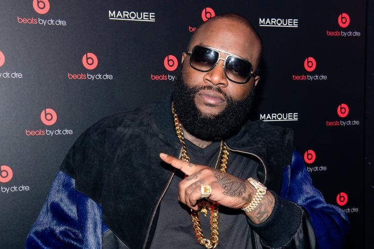 Singer Rick Ross attends Beats By Dr. Dre special event At Marquee New York on January 31, 2014 in New York City