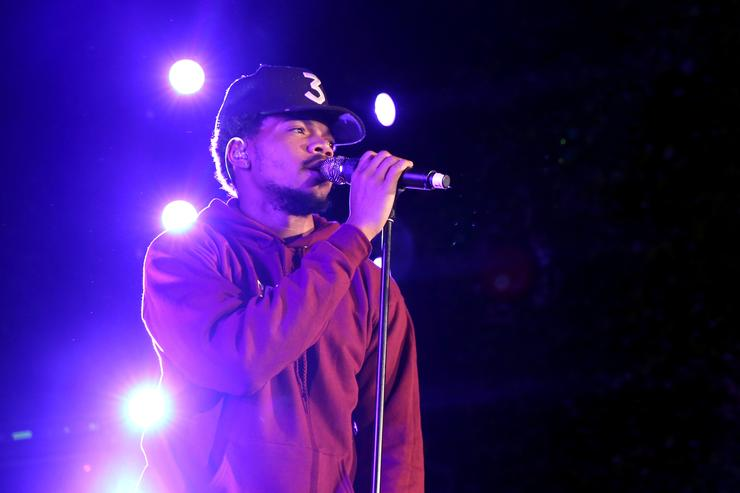 Chance The Rapper performs onstage durinng Take-Two's Annual E3 Kickoff Party at Cecconi's Restaurant on June 13, 2016 in Los Angeles, California.