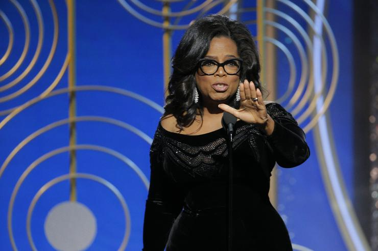 Gayle King just commented on rumors of Oprah running for president