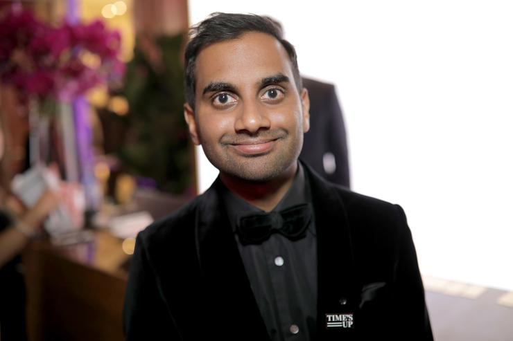 Male Feminist Comedian Aziz Ansari Accused Of Sexual Assault