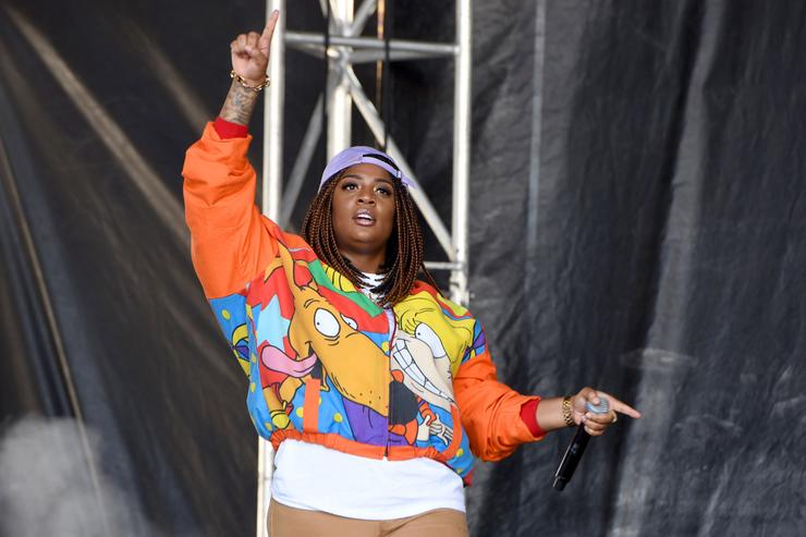 Rapper Kamaiyah performs onstage during the Meadows Music and Arts Festival - Day 3 at Citi Field on September 17, 2017 in New York City.