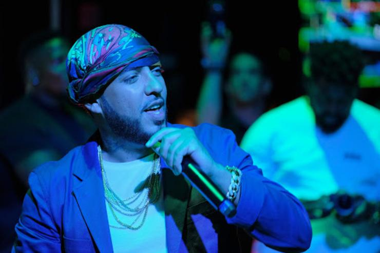 French Montana perfomring