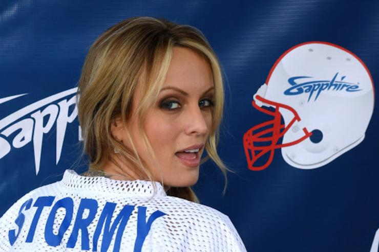 Stormy Daniels Football Shirt