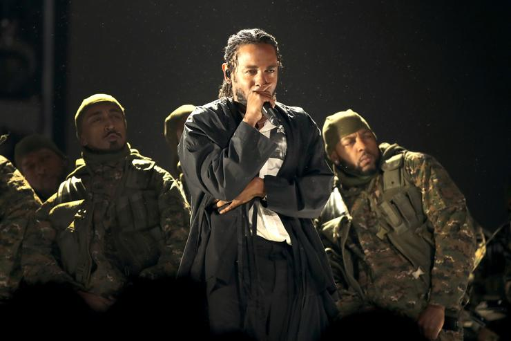 Kendrick Lamar on Stage
